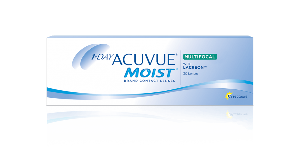 1-DAY ACUVUE® MOIST Brand MULTIFOCAL Contact Lenses