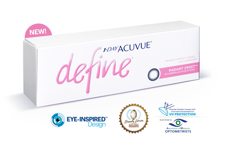 1-DAY ACUVUE® DEFINE® WITH LACREON® TECHNOLOGY