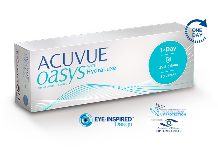 ACUVUE® OASYS 1-DAY WITH HYDRALUXE™ TECHNOLOGY