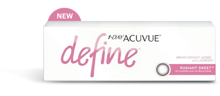 1-DAY ACUVUE® DEFINE® RADIANT SWEET™