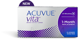ACUVUE® VITA™ MONTHLY CONTACT LENSES